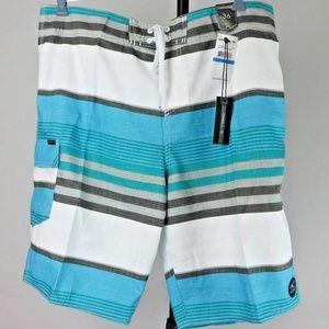 O'Neill Swim - O'Neill Men's Santa Cruz Stripe Boardshort